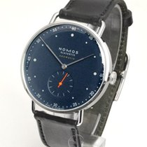 NOMOS Metro Neomatik Steel 38.5mm Blue