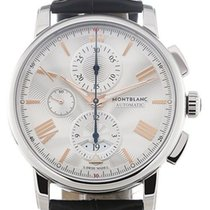 Montblanc Steel 43mm Automatic 114855 new