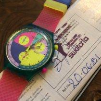 Swatch Plastique 37,3mm Quartz nouveau France, Paris