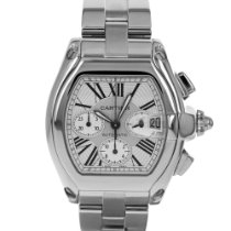 Cartier Roadster pre-owned 42mm Steel