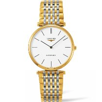 Longines new Automatic PVD/DLC coating 36mm Yellow gold Sapphire Glass