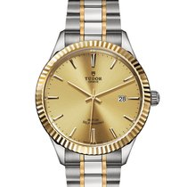 Tudor Style Gold/Steel 41mm Champagne United States of America, New Jersey, Edgewater