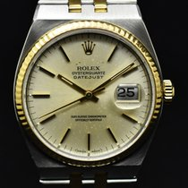 Rolex Datejust Oysterquartz Золото/Cталь 36mm Цвета шампань Без цифр