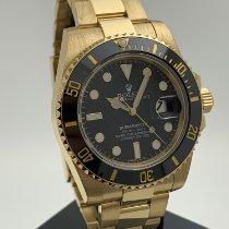 Rolex Submariner Date gebraucht 40mm Gelbgold
