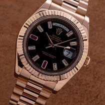 Rolex 218235 Oro rosa 2014 Day-Date II 41mm usados