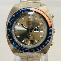 Seiko Steel 42mm Automatic Seiko Pogue Pepsi Silver Dial 6139-6000 pre-owned United States of America, California, Cerritos