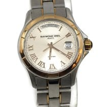 Raymond Weil Parsifal Gold/Steel 39mm Silver Roman numerals United States of America, New York, New York