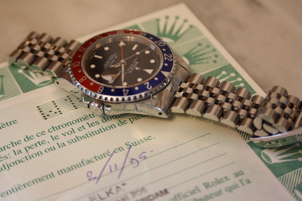 Rolex Vintage Rolex Gmt-Master II Pepsi Jubilee bracelet cal 3186