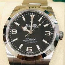 Rolex Steel Automatic Black Arabic numerals 39mm new Explorer