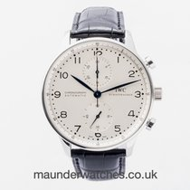 IWC Portuguese Chronograph IW371446 2013 pre-owned