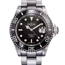 Davosa Ternos Automatic Steel 40mm Black