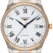 Longines Master Collection Gold/Steel 42mm White