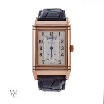 Jaeger-LeCoultre Grande Reverso Duo Or rose 30mm Argent