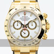 Rolex Daytona Oro amarillo 40mm Blanco