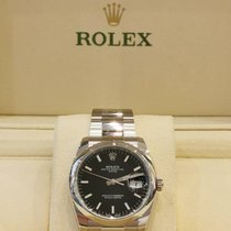 Rolex Oyster Perpetual Date Steel 34mm Black No numerals Malaysia, KUALA LUMPUR