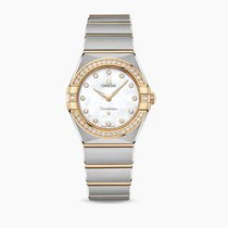 Omega Constellation Quartz Gold/Steel 28mm Mother of pearl United States of America, Iowa, Des Moines