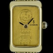 Corum 11.5mm Quartz 1980 pre-owned Gold (solid)