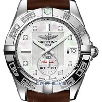 Breitling Galactic 36 Steel 36mm Mother of pearl United States of America, New York, Airmont