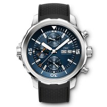 IWC IW376805 Stahl Aquatimer Chronograph 44mm neu