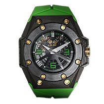 林德维德林  (Linde Werdelin) Oktopus Double Date Carbon - Green