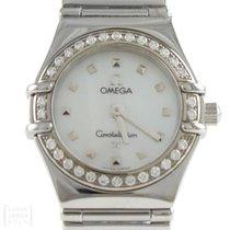 Omega Constellation My Choice Lady Edelstahl Brillanten