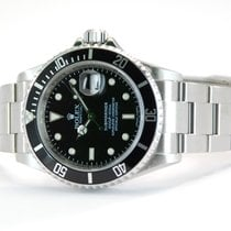 Rolex Submariner Stainless Steel Black  Dial -16610T
