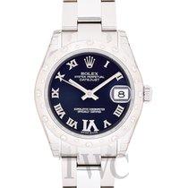 Rolex Lady-Datejust Or blanc 31mm Violet