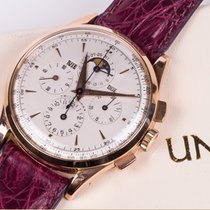Universal Genève TRI-COMPAX PINK GOLD Ref. 12296, 38.5mm,...