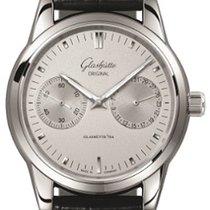 Glashütte Original Senator Hand Date new 2019 Automatic Watch with original box and original papers 1-39-58-02-02-04