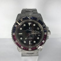 Rolex 116759 SARU Or blanc 2008 GMT-Master II 40mm occasion