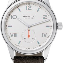 NOMOS Club Campus Steel 38.5mm White United States of America, New York, Airmont