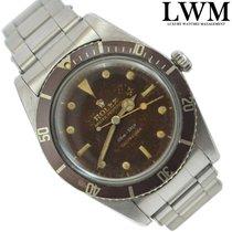 "Rolex Submariner 5508 ""James Bond"" tropical brown gilt dial 1959s"