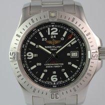 Breitling Colt Chronometer #A3432 Stahlband, Box, Papiere