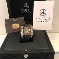 Cyrus Kuros Chronograph Black Dial Titanium/Gold Limited Edition