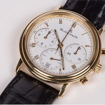 Blancpain Villeret Chronograph Ref. 1185 Yellow Gold Full Set