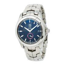 豪雅 Link Wj2110 Mens Automatic Watch Black Dial Stainless Steel...