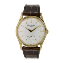 Patek Philippe Calatrava Yellow gold 37mm White No numerals United States of America, New York, New York