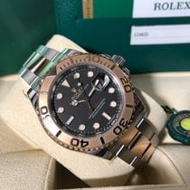 Rolex Yacht-Master 116621 Steel Everose Box Papers 2017 BLK Dial