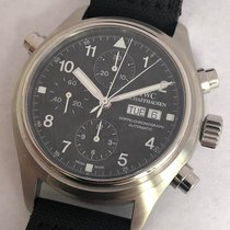 IWC Pilot Doppel Chronograph Split Seconds Rattrapannte...