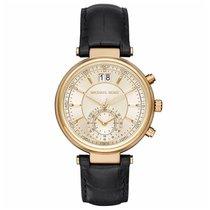 Michael Kors Chronograph 39mm Quarz neu Gold