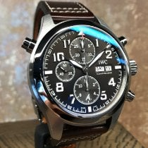 IWC Pilot Double Chronograph new 2017 Automatic Chronograph Watch with original box and original papers IW371808