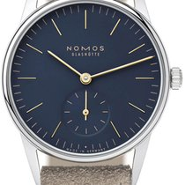 NOMOS Steel 32.8mm Manual winding Orion 33 new United States of America, New York, Airmont