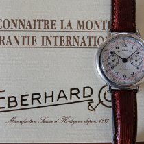 Eberhard & Co. Chronograph 33mm Manual winding pre-owned White