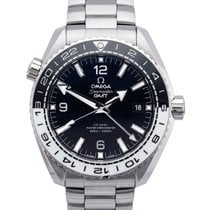 Omega Seamaster Planet Ocean Steel 43.5mm Black Arabic numerals