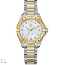 TAG Heuer Aquaracer Lady Gold/Steel 32mm Mother of pearl