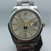 Rolex Oyster Perpetual Date 15200 special custom dial pre-owned