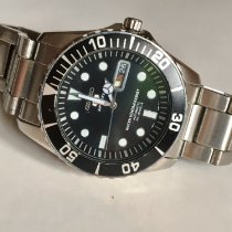 Seiko SNZF17K1 Steel 2010 5 Sports 42mm pre-owned