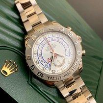 Rolex Белое золото Автоподзавод Белый 44mm подержанные Yacht-Master II