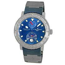 Ulysse Nardin Diver Chronometer Steel 40mm Blue Arabic numerals United States of America, Georgia, Atlanta