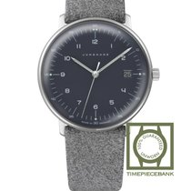 Junghans max bill Damen Stal 32.7mm Szary Arabskie